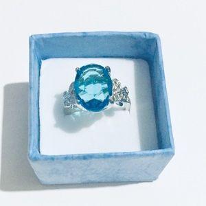 ⭐️March Birthstone ring
